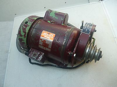 Gryphon Electric Motor professionally REFURBISHED & Coronet Major GEAR UNIT