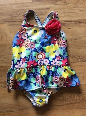 NWT Gymboree Girls Flower Swimsuit / Swimwear One Piece NEW Size 5t