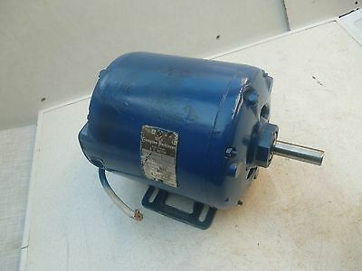 Crompton Parkinson Electric Motor: professional REFURB' 0.5 HP was on ML8