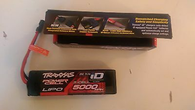 Batterie lipo traxxas 3s 5000mah 25c 11.1v connection traxxas id