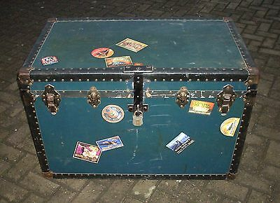 Vintage Cabin TRUNK, CHEST, Blanket BOX, Coffee TABLE, Old Toy Storage BOX