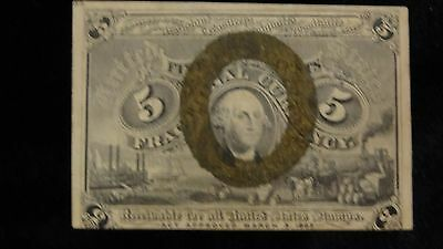 1863 FRACTIONAL CURRENCY March 3, 1863 Excellent Condition