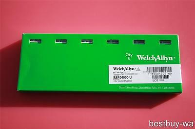 NEW WELCH ALLYN GENUINE 04900-U REPLACEMENT BULB LAMP for 11720 11735; Pack of 6