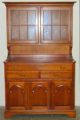Cherry China Hutch/Cupboard by Pennsylvania House - Early American Style