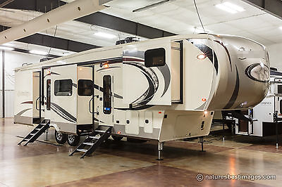 New 2018 Model 386FK Front Kitchen Luxury 5 Slide Out 5th Fifth Wheel Sleeps 6
