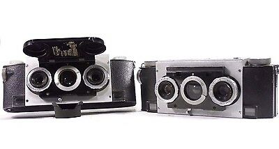 Lot of 2 Stereo Realist Cameras
