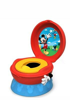 The First Years Disney Mickey Mouse 3-in-1 Celebration Childrens Training Potty