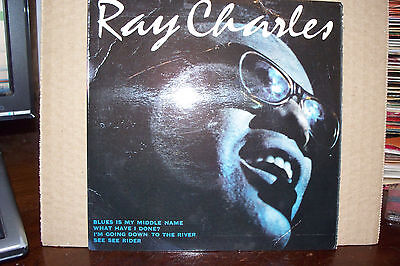 Ray Charles,  Blues Is My Middle Mame,  Arc Records 1965  Ex+