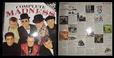LP Complete MADNESS 16 Hit Tracks Greatest Hits Best Of SKA NO 2tone