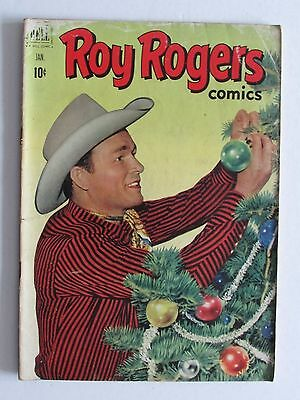 ROY ROGERS COMICS #49 - JAN 1952 Dell Golden age comic VG+