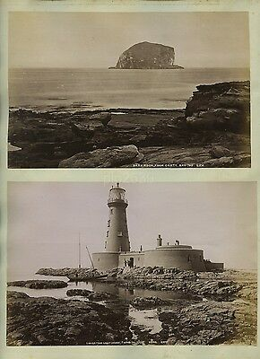 Photo Of Longstone Lighthouse Farne Islands  GW Wilson c1880s