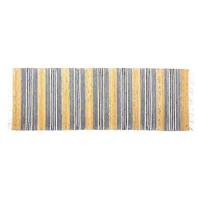 Lovable Scandinavian Handwoven Rug - 2′5″ × 7′2″