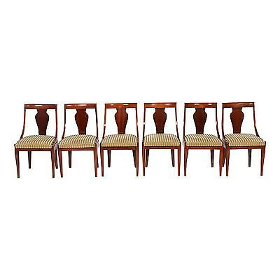 Charming Antique Regency Style Dining Chairs - Set of 6