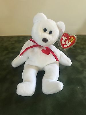 "Ty Beanie Baby ""valentino"" Very Rare 1993/1994 Collectible Hang Tag Errors!"