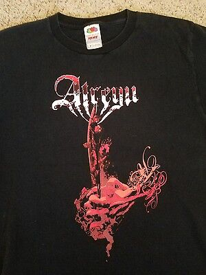 Atreyu T Shirt M Metalcore Orange County California