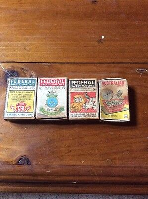 Collectable Match Boxes