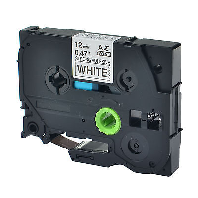1PK TZeS231 TZ S231 Black on White Label Tape For Brother P-Touch PT-1130 12mm