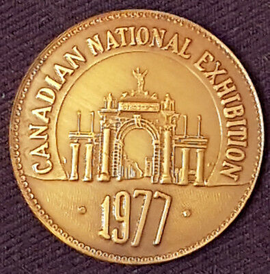 1977 - Canadian National Exhibition - Cne- Token / Coin - Original