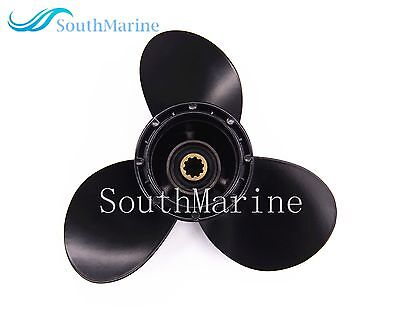 Aluminum Alloy Propeller 9 1/4x8 for Suzuki 9.9HP 15HP Outboard DT & DF9.9-15