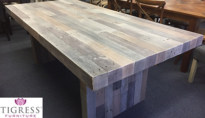 """""""Soho"""" Solid Recycled Timber Dining Table 210cm"""