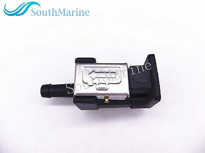 6Y2-24305-06-00 Fuel Connector for Yamaha Outboard Motors, 8mm Tank Side Fitting