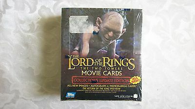 Lord Of The Rings  The Two Towers Movie Cards Update Edition Sealed Box Topps