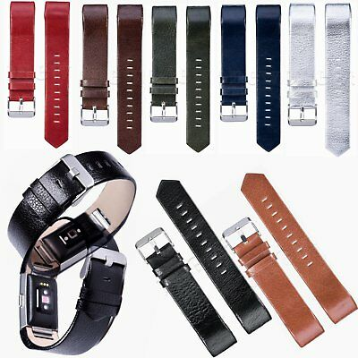 Replacement Luxury Leather Band Strap Wristband Bracelet For Fitbit Charge 2 New