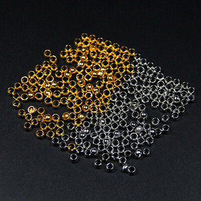 200PCS Large Eye Hollow Brass Bead for Fly Tying Nymph Scud Belly Eyes Spinner