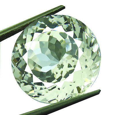 24.70ct Lab-Created AAA+ WHITE SAPPHIRE ROUND GEMSTONE 17 MM blanc saphir ronde