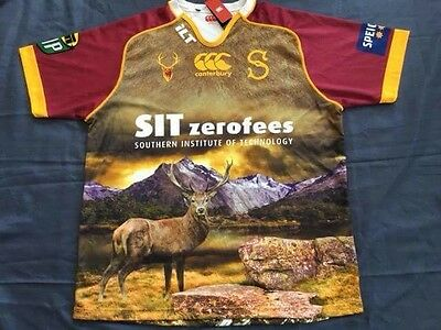Southland Stags Rugby Union Jersey (3XL)