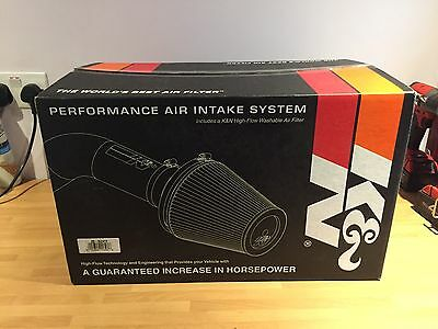 69-3524Tp K&n Typhoon Cold Air Intake Kit - Ford Mustang Gt 4.6 V8 1996-2001