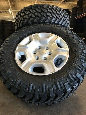 Ford Ranger 17 Inch Genuine Wheels And Nitto Trail Grappler 265/70/17 Brand New