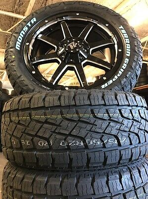 Ford Ranger Wheels 20 Inch Brand New Package Hussla Stealth All Terrain Tyres