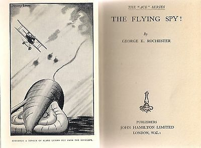 (Scare) The Flying Spy by George E. Rochester