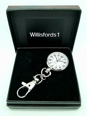 Nurse fob watch beautician doctor Clip on carabineer *gift boxed*