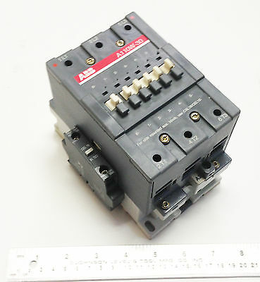 ABB A110W-30 110-120 VAC Coil 3 Ph 600 V 160 A Welding Isolation Contactor