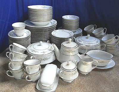 Noritake 'melissa', 12 Different Pieces, 110+ Items In Total, Vgc