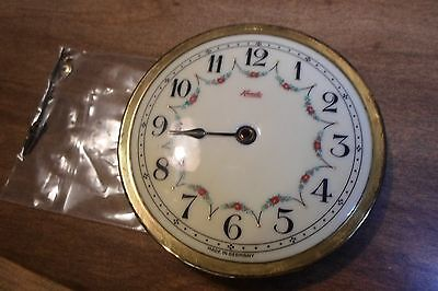 Vintage Kundo Anniversary Clock Porcelain Face Germany EXC *Worldwide Shipping*
