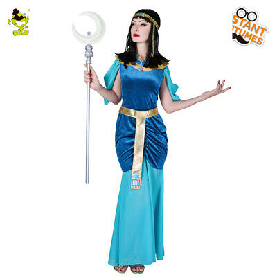 Ancient Egypt Pharaoh Costume Egyptian Women Cleopatra Queen Cosplay Fancy Dress