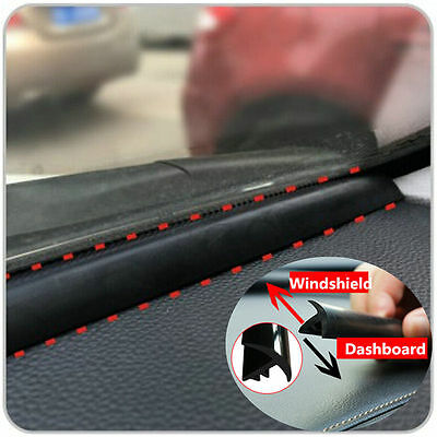 1.6m Rubber Strip for Auto Car Dashboard Windshield Soundproof Dustproof Sealing