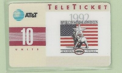TK (10) AT&T 10u Republican 1992 National Convention RNC SAMPLE