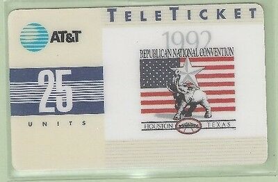 TK (11) AT&T 25u Republican 1992 National Convention RNC SAMPLE