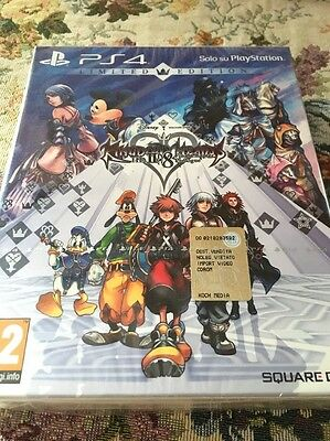 Kingdom Hearts 2.8! Ps4 ! Limited Edition ! Nuovo !
