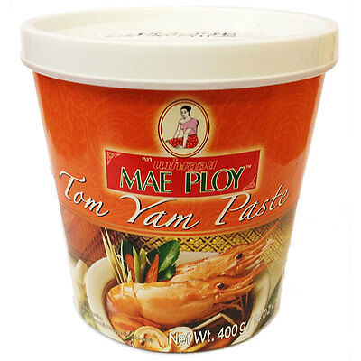Authentic Imported Thai Tom Yum / Yam Paste (400g) by Mae Ploy (P018) UK Seller