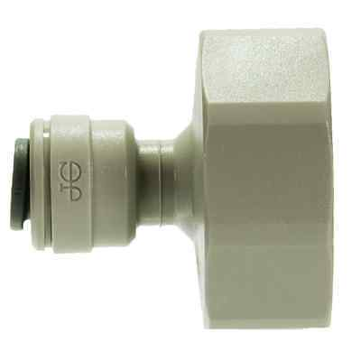 """John Guest CI320816S 1/4"""" Push Fit to 3/4"""" BSP Thread Connector"""