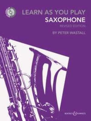 Learn As You Play Alto Saxophone