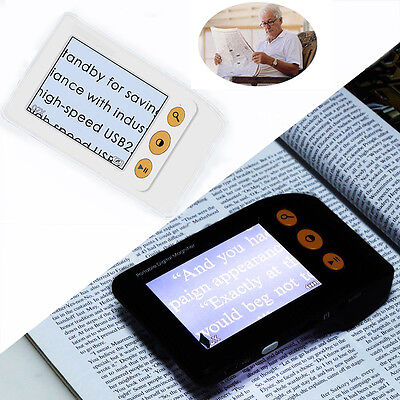 3.5 inch Handheld Portable Video Digital Magnifier Electronic Reading Aid
