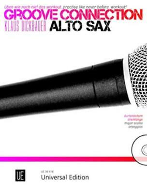 Groove Connection Alto Sax Book & Cd