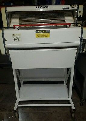 Used OLIVER Lucks 600-R3 Baguette French Bread Dough Moulder SN-2R8336