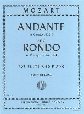 Mozart - Andante K 315 C Rondo K Anh 184 D Flute Piano